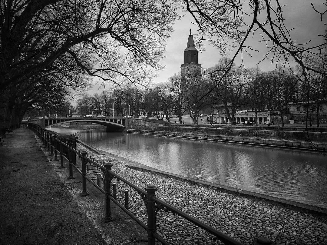 Kaupunkiesittelyssä Turku