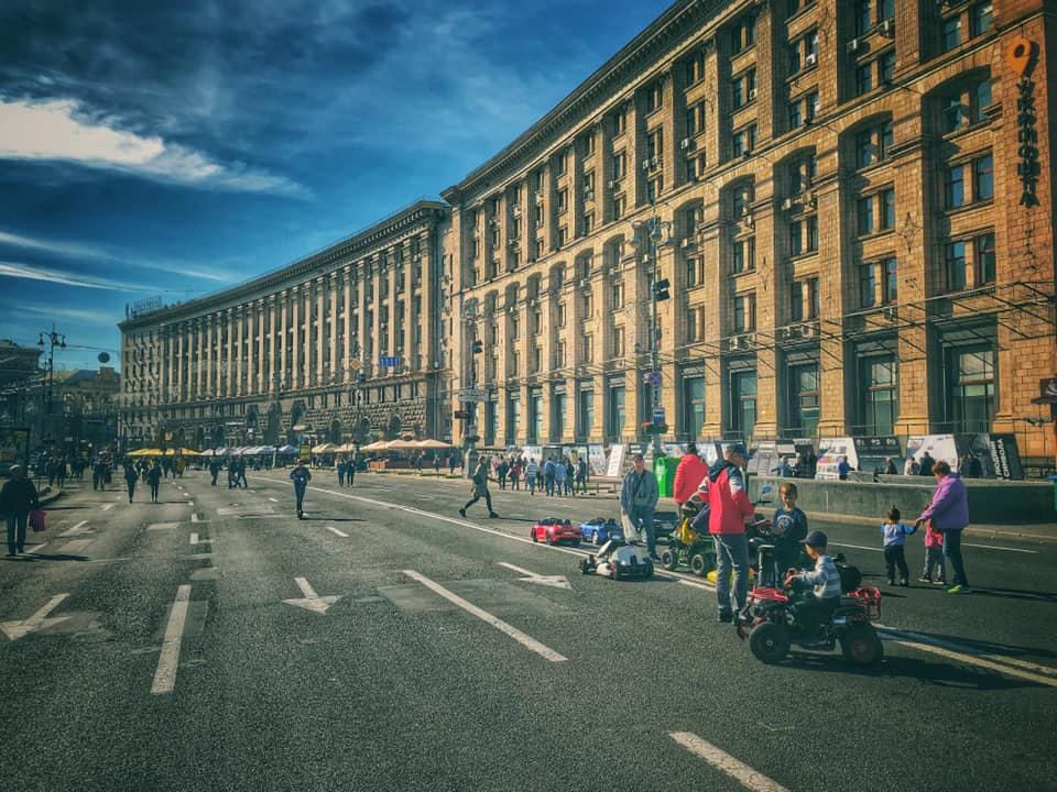 Kaupunkiloma Kiovaan